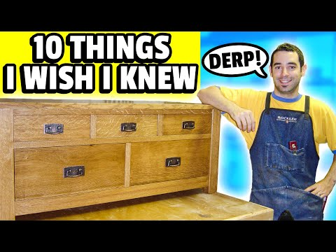 10 Things I Wish I Knew When I Started Woodworking