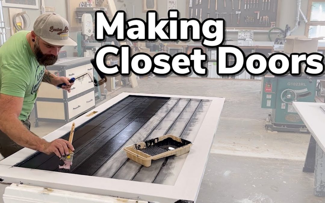 Easy Closet Doors    You Can Make These