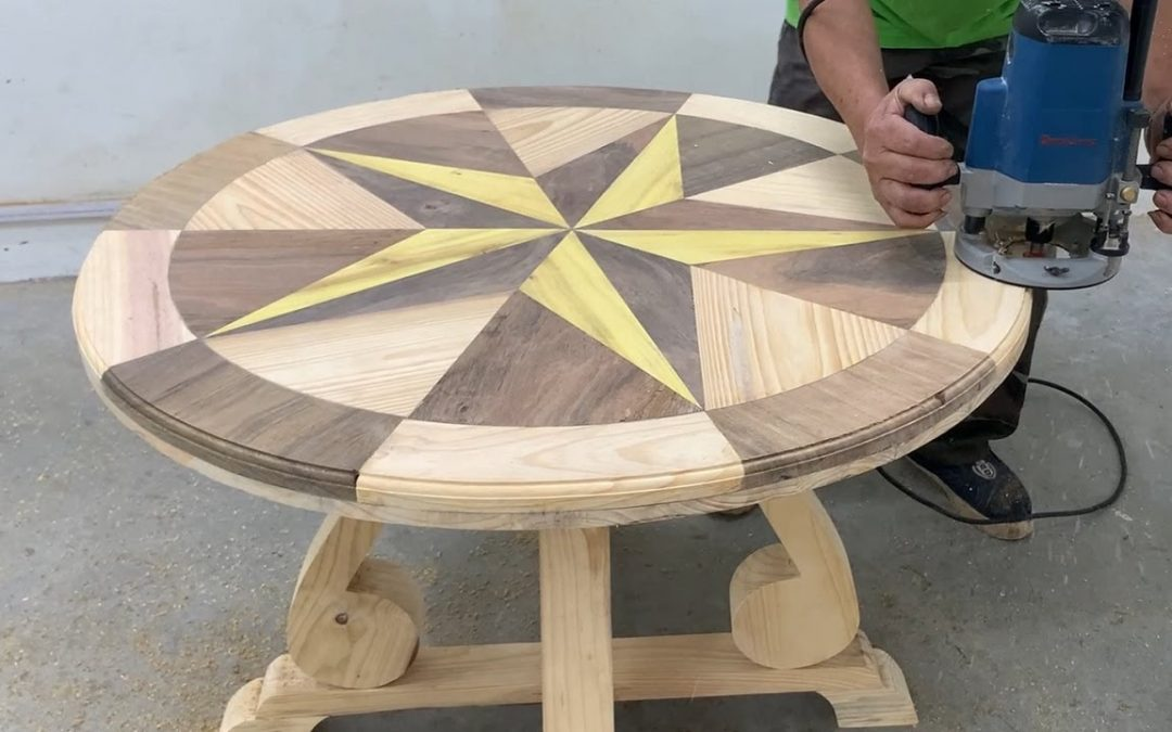 Amazing Design Ideas For Woodworking Projects With Magic Pieces – Build A Table With Unique Styling